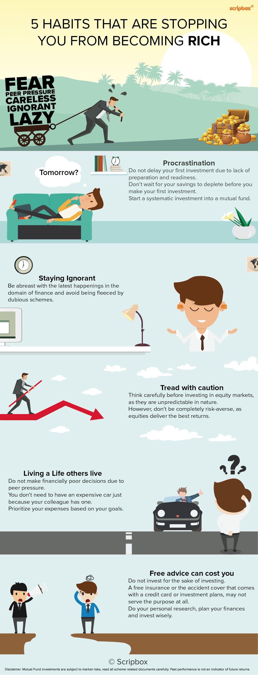 5 habits rich for publishing